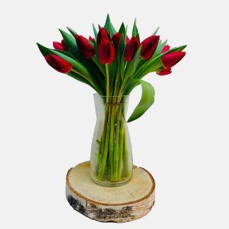 Envío de tulipanes rojos a domicilio, ramo de tulipanes rojos para regalar, envío de tulipanes rojos a domicilio, entrega de tulipanes rojos Madrid, ramo de tulipanes rojos a domicilio