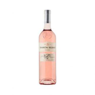vino rosado para ramo de flores