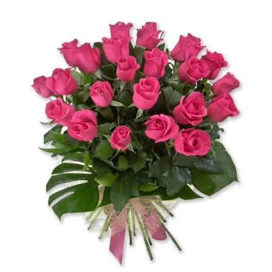 ramo de rosas rosadas, Candie
