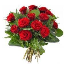 ramo de rosas rojas, clasic love