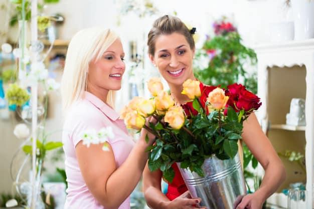 compra de flores personalizadas, rosas de colores Madrid