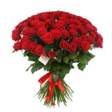 ramo grande rosas rojas