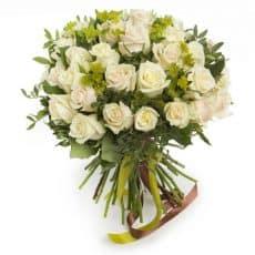 ramo de veinte rosas blancas