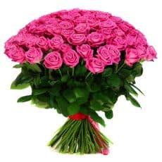 ramo de pura rosa rosada