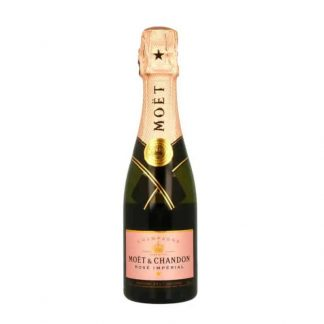 champagne espumoso para ramo de flores