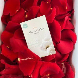 Envío de pétalos de rosas rojas Madrid, pétalos a domicilio mismo día