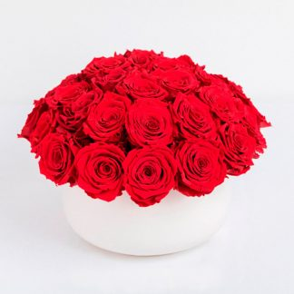 centro de rosas rojas Madrid, rosas rojas a domicilio mismo día Madrid, rosas san Valentín